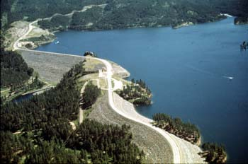 Pactola reservoir campground for Pactola lake cabins