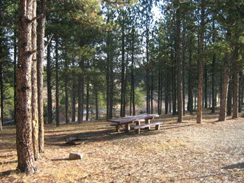 Roubaix lake campground for Pactola lake cabins